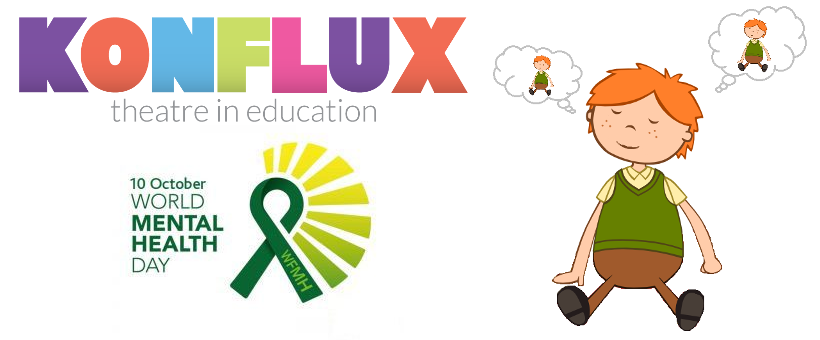 Konflux Theatre, Mental Health Day, Mental Health Blog, Blog, Theatre in Education, Mindfulness, Well-being, KS1, KS2