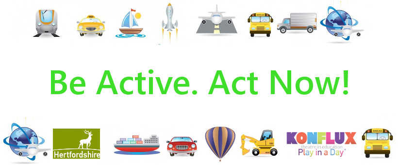 ​​Sustainable Travel with Hertfordshire Council and Konflux theatre