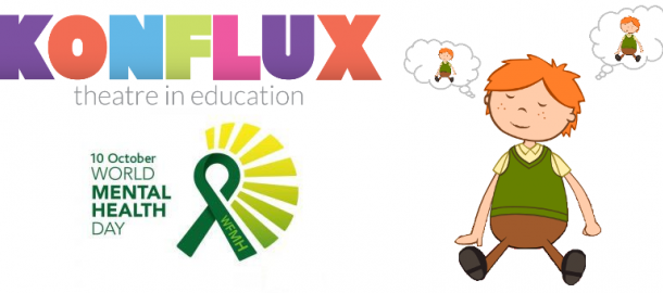 Mindfulness, Konflux Theatre, Theatre Workshop, Drama Workshop, Theatre, Drama, Key Stage 2, Key Stage 1, Mental Health, KS1, KS2, Education, Play in a Day, Wellbeing